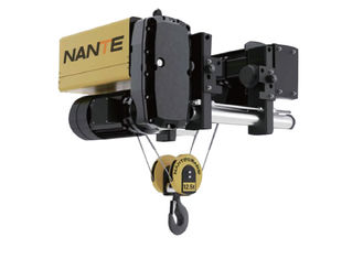 12.5 Ton Low Headroom Hoist For Workshop , Maximum Lifting Height 30m